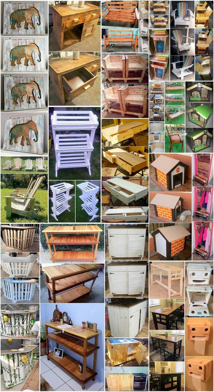 Amazing Tips to Reuse Old Wooden Pallets