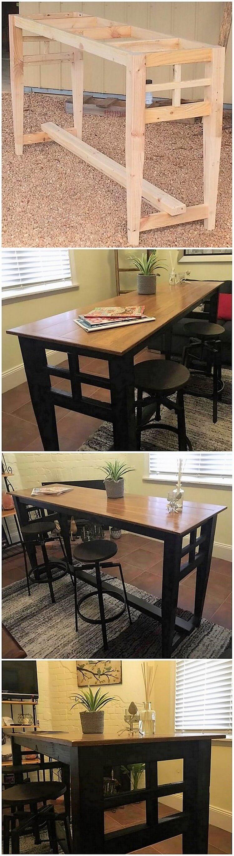 DIY Palle Table