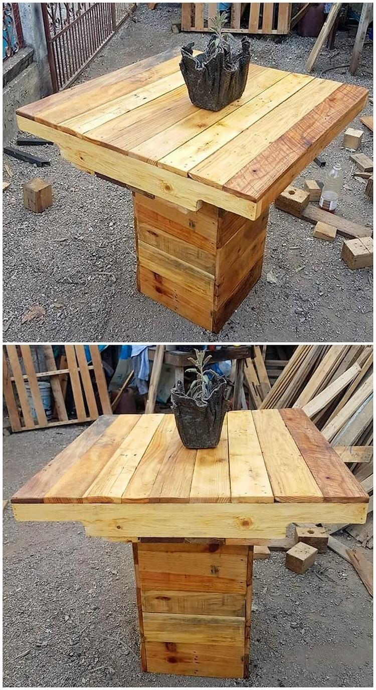 Pallet Table Idea