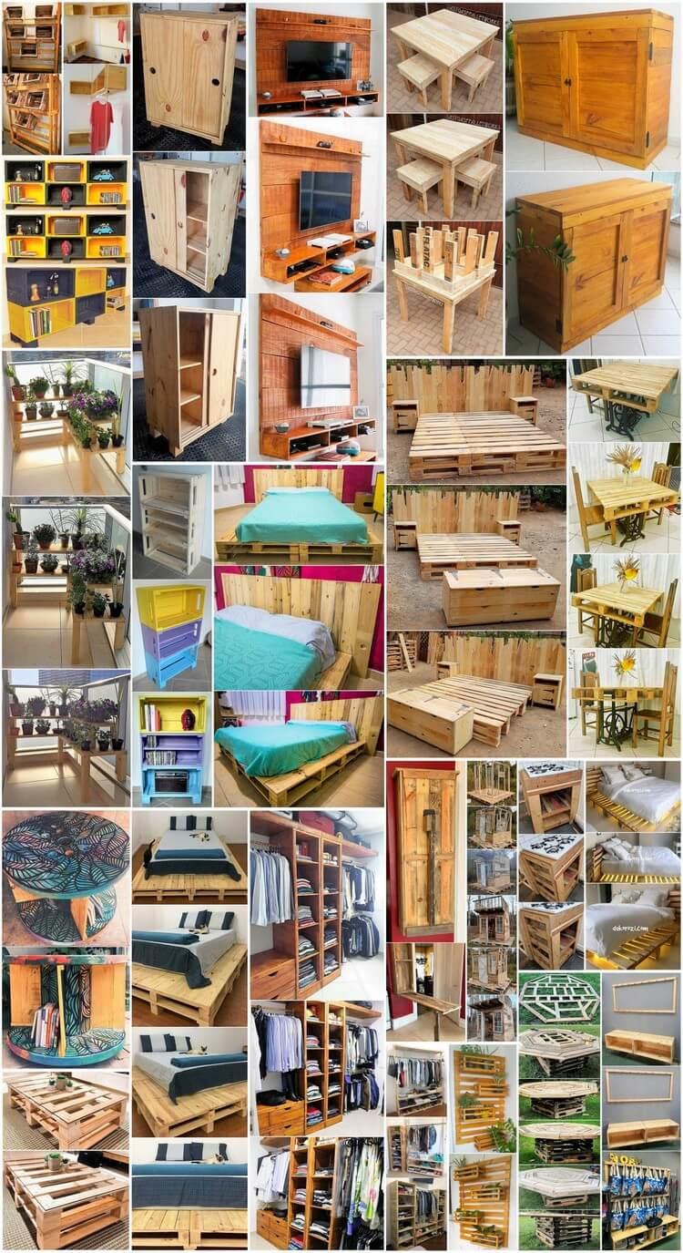 Astound DIY Wood Pallet Reusing Tips and Hacks