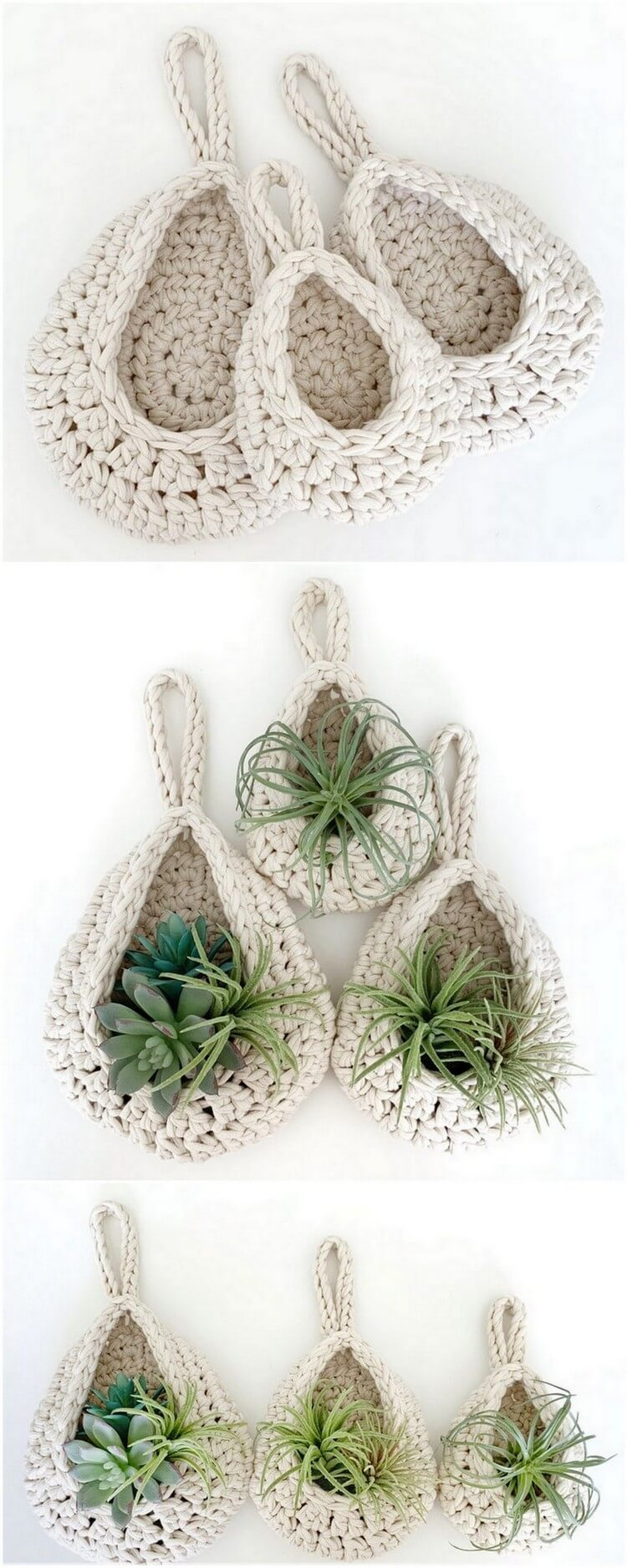 Crochet Basket Pattern (108)