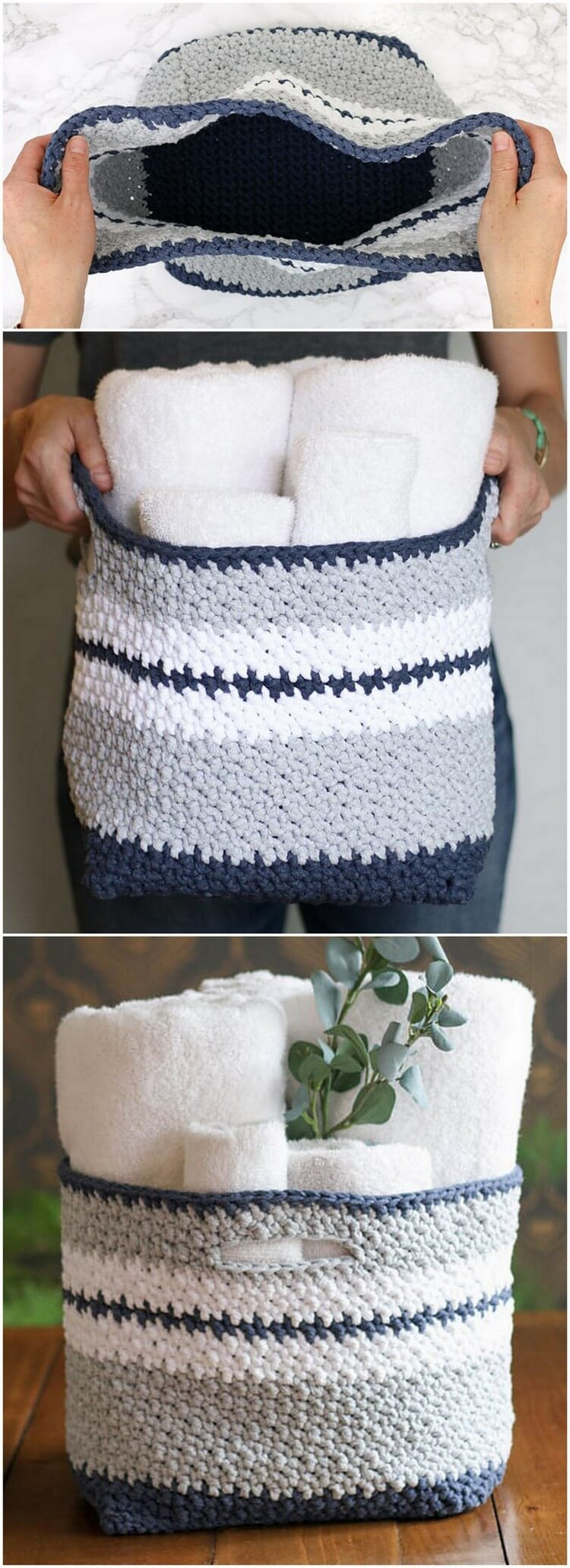 Crochet Basket Pattern (11)