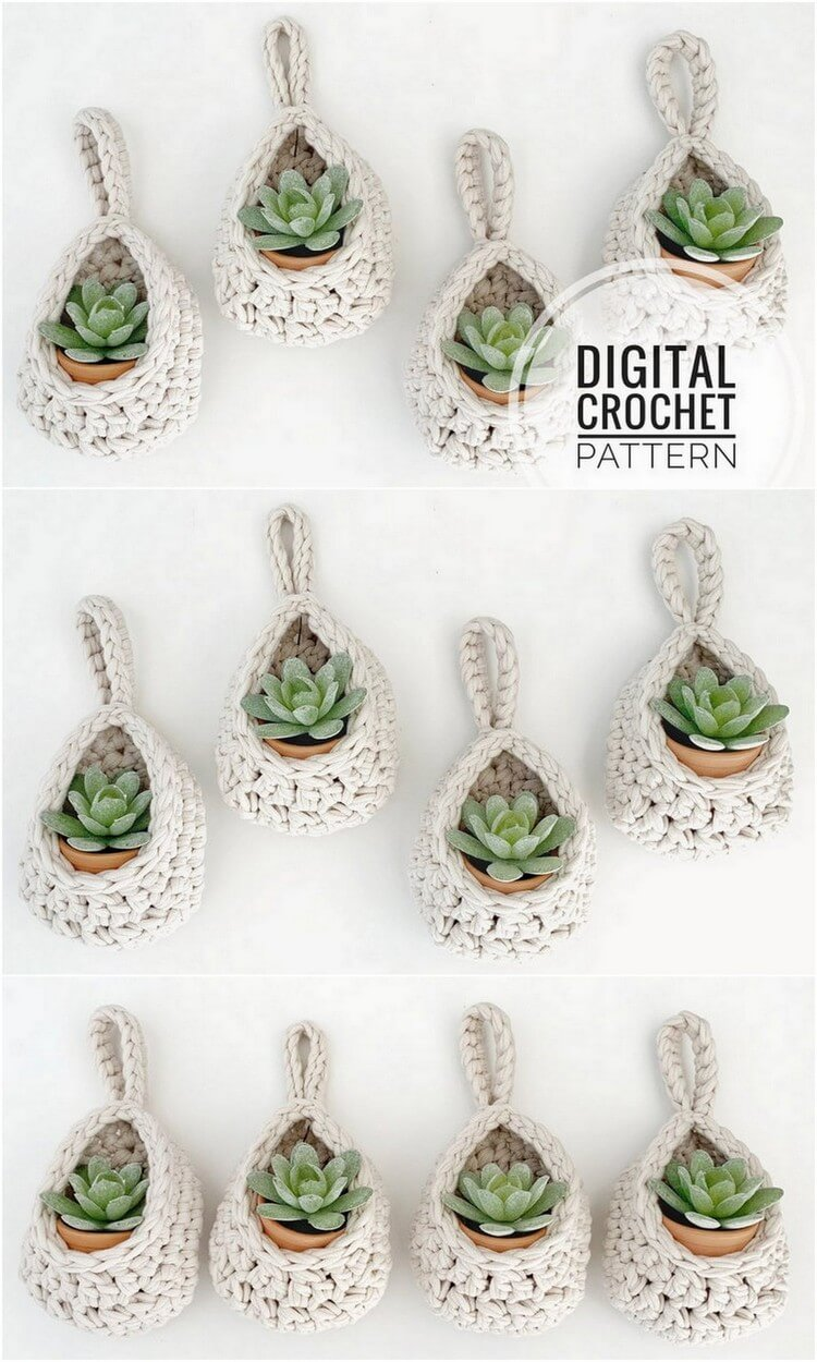 Crochet Basket Pattern (110)