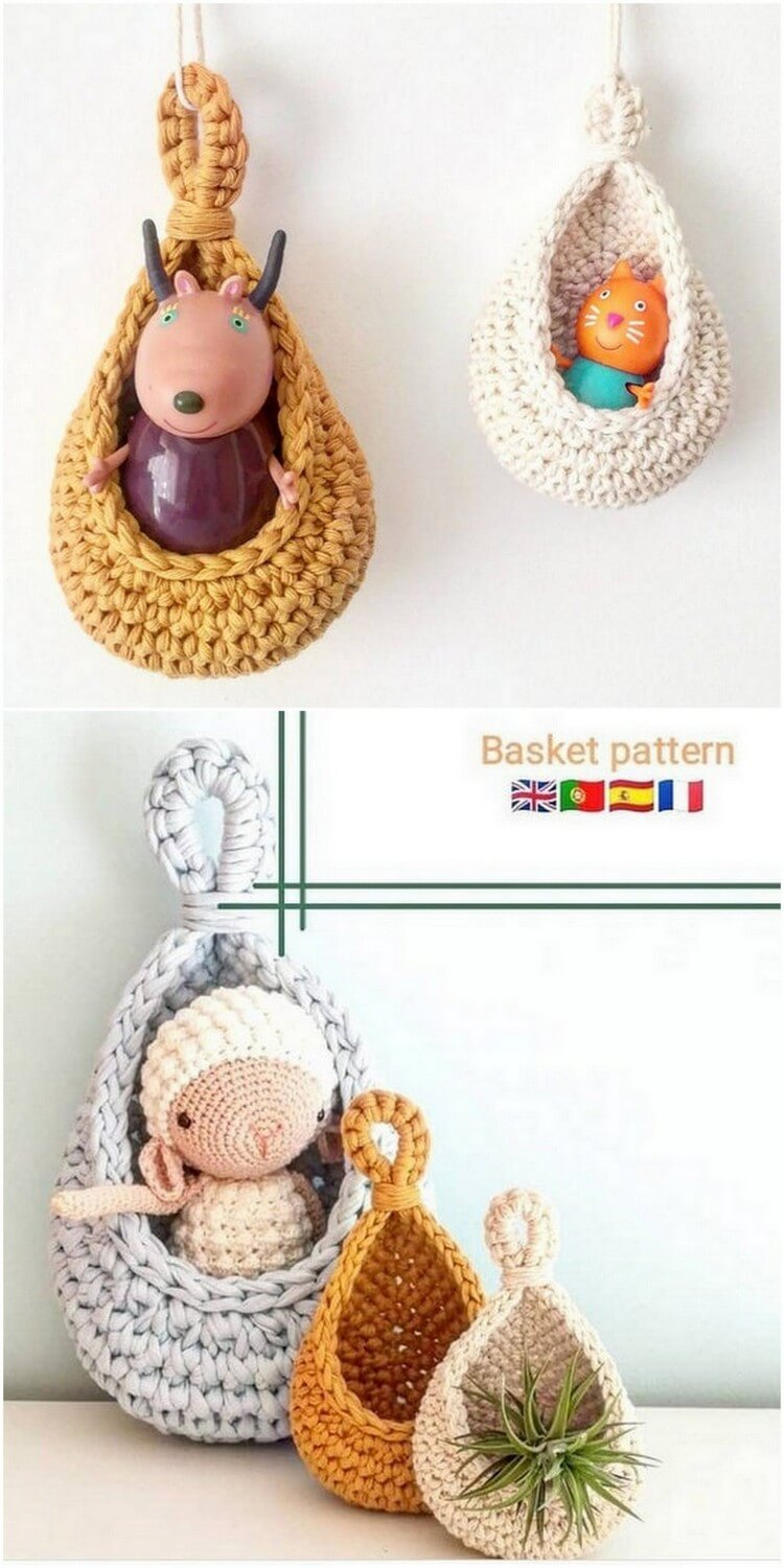 Crochet Basket Pattern (114)