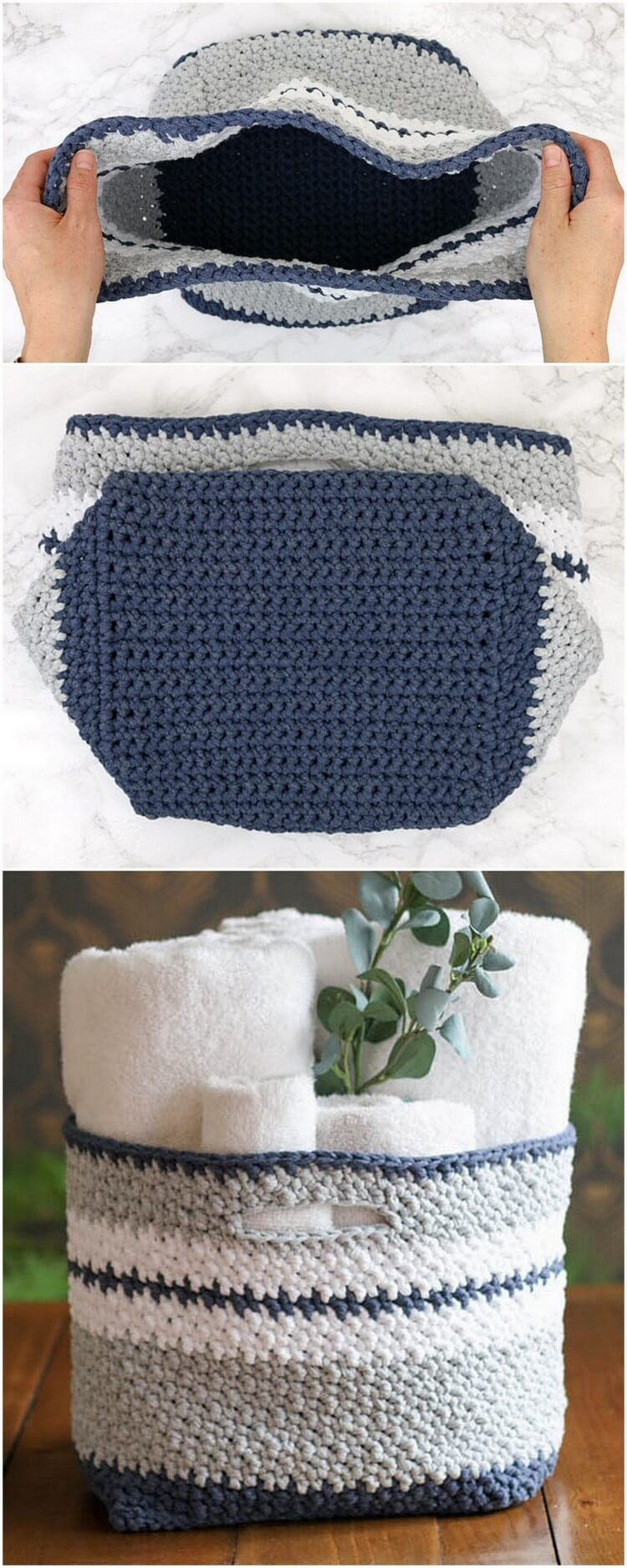 Crochet Basket Pattern (12)