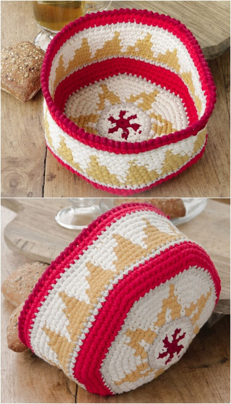 Crochet Basket Pattern (13)