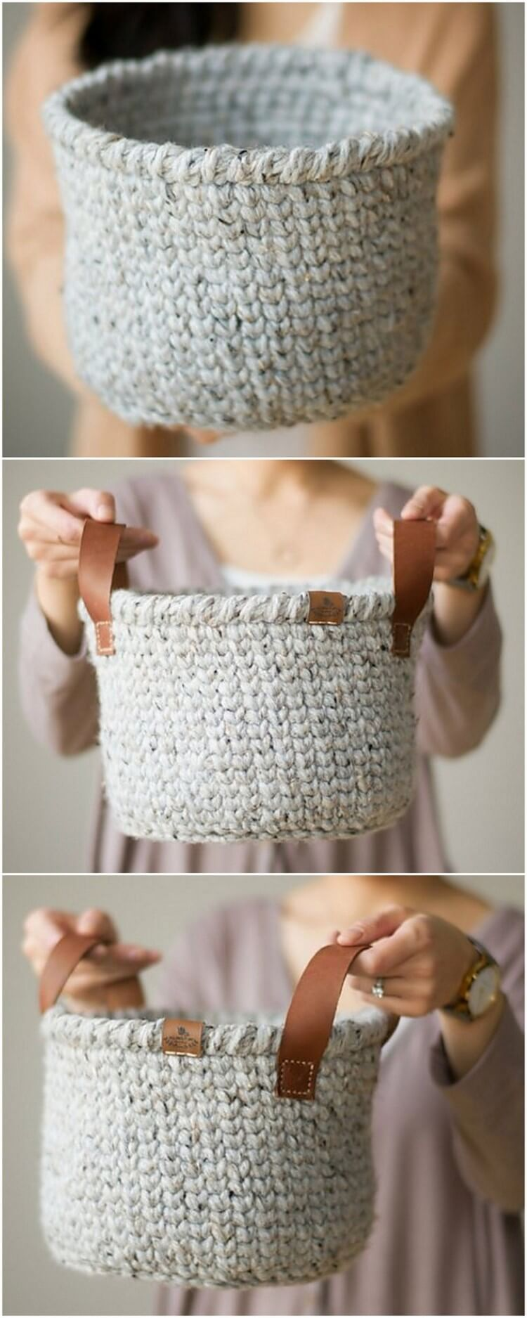 Crochet Basket Pattern (14)