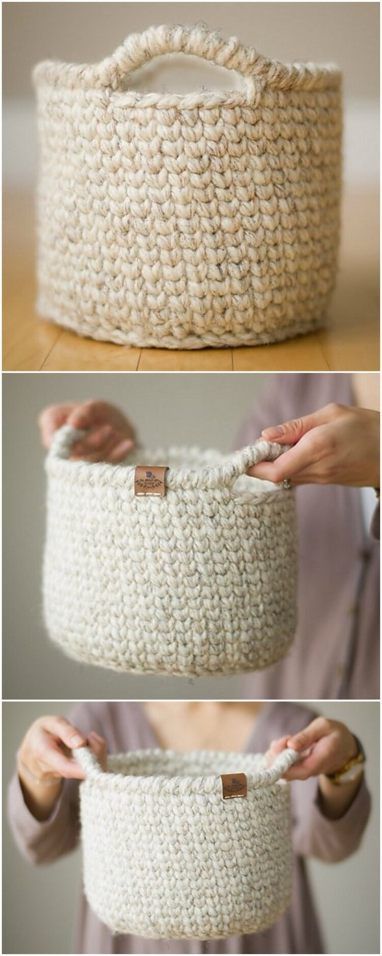 Crochet Basket Pattern (15)