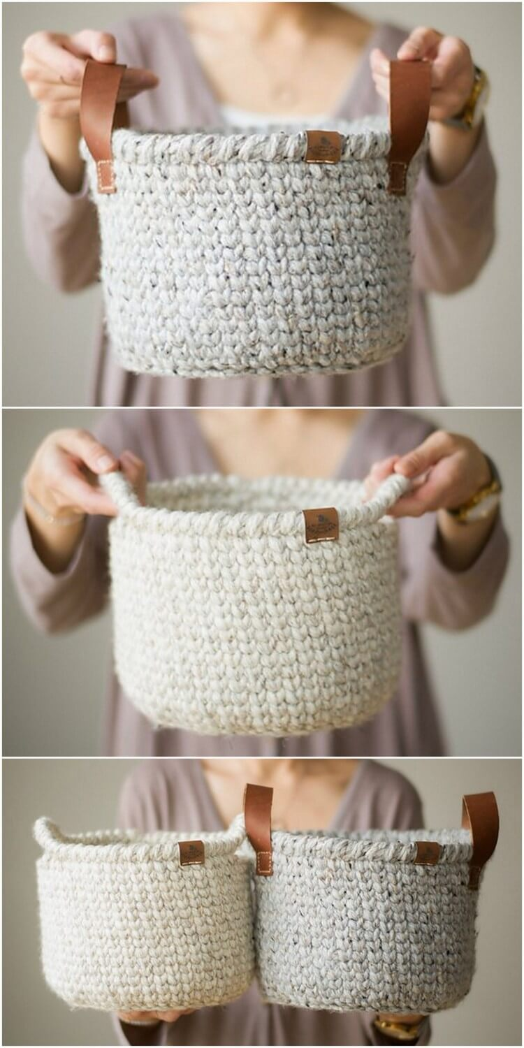 Crochet Basket Pattern (16)