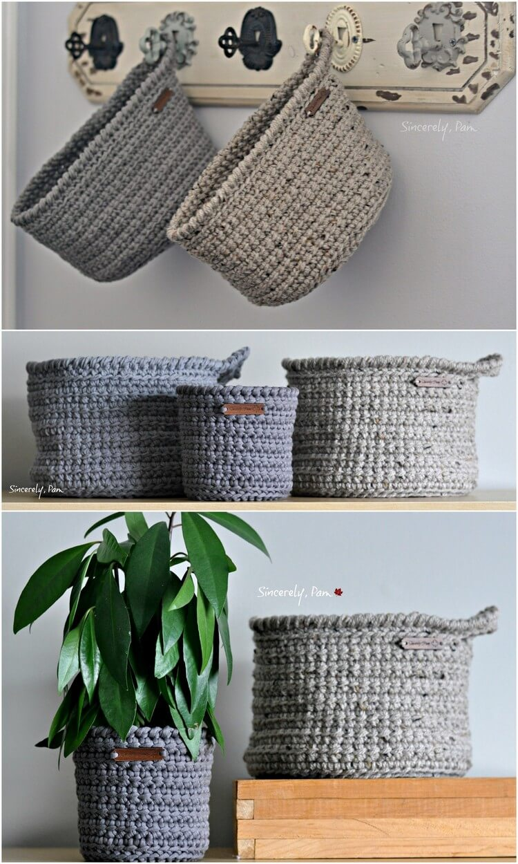 Crochet Basket Pattern (17)