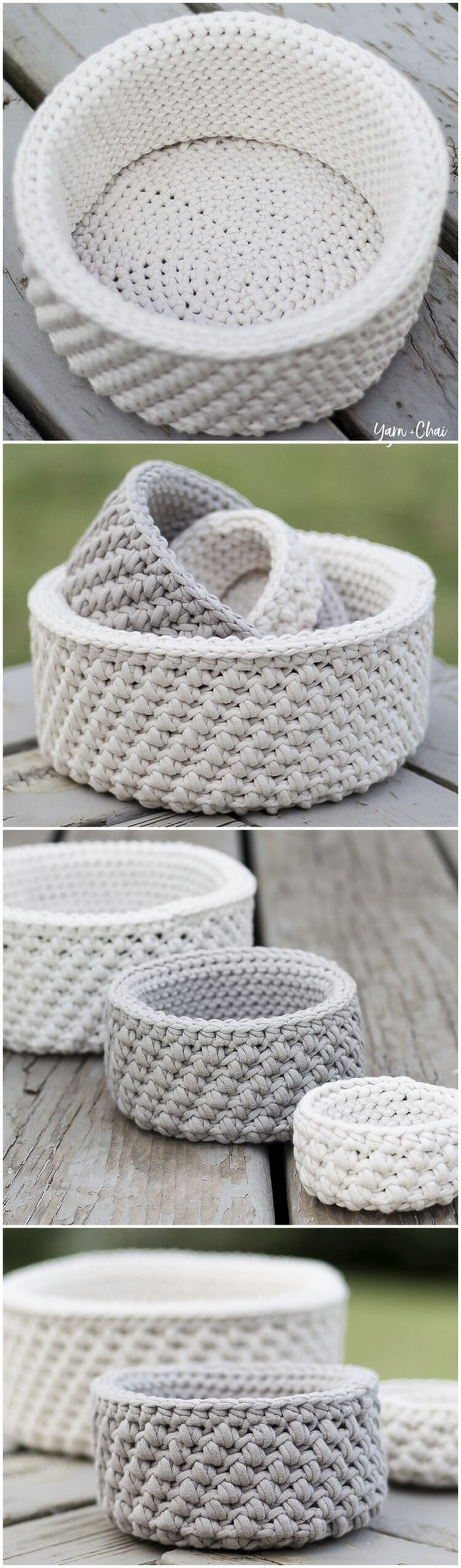 Crochet Basket Pattern (19)