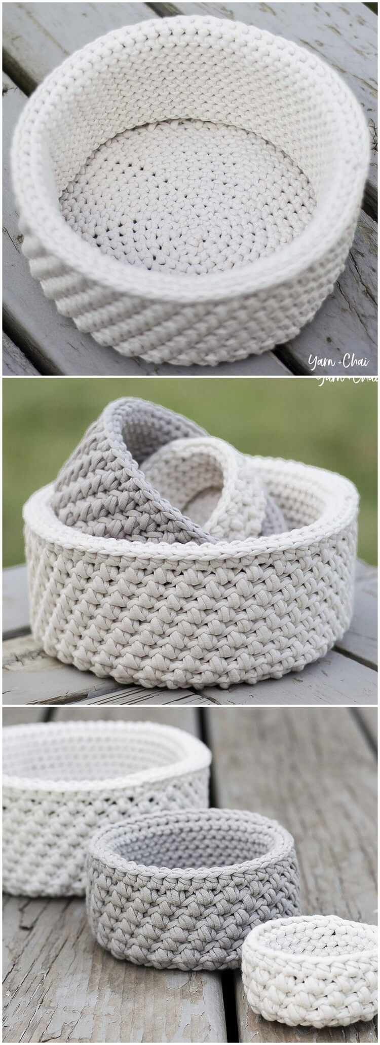 Crochet Basket Pattern (20)