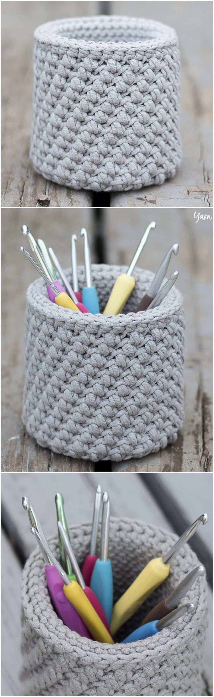 Crochet Basket Pattern (22)