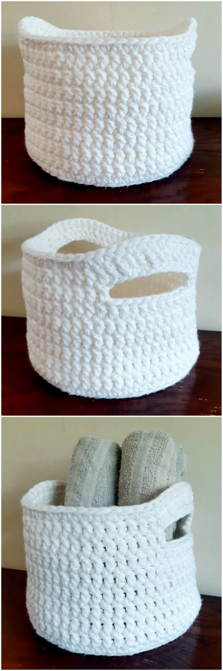 Crochet Basket Pattern (30)