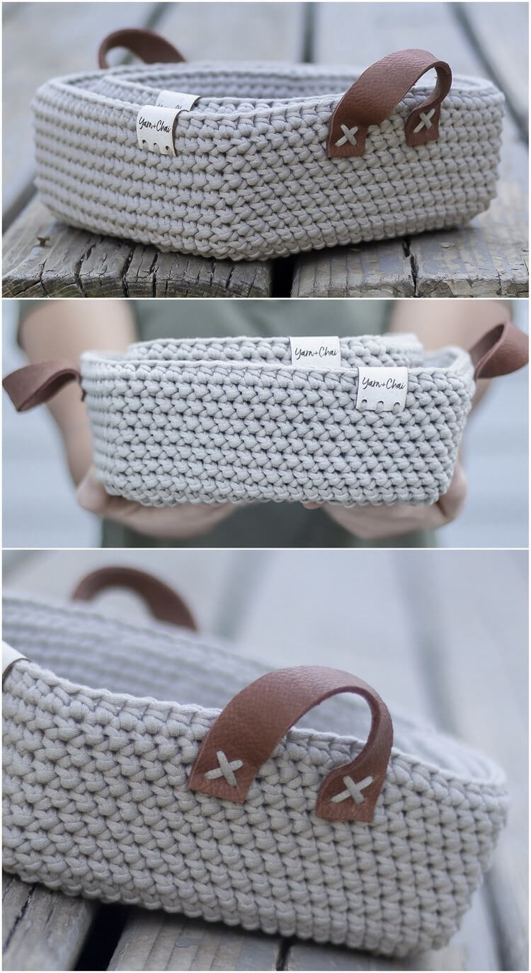 Crochet Basket Pattern (32)