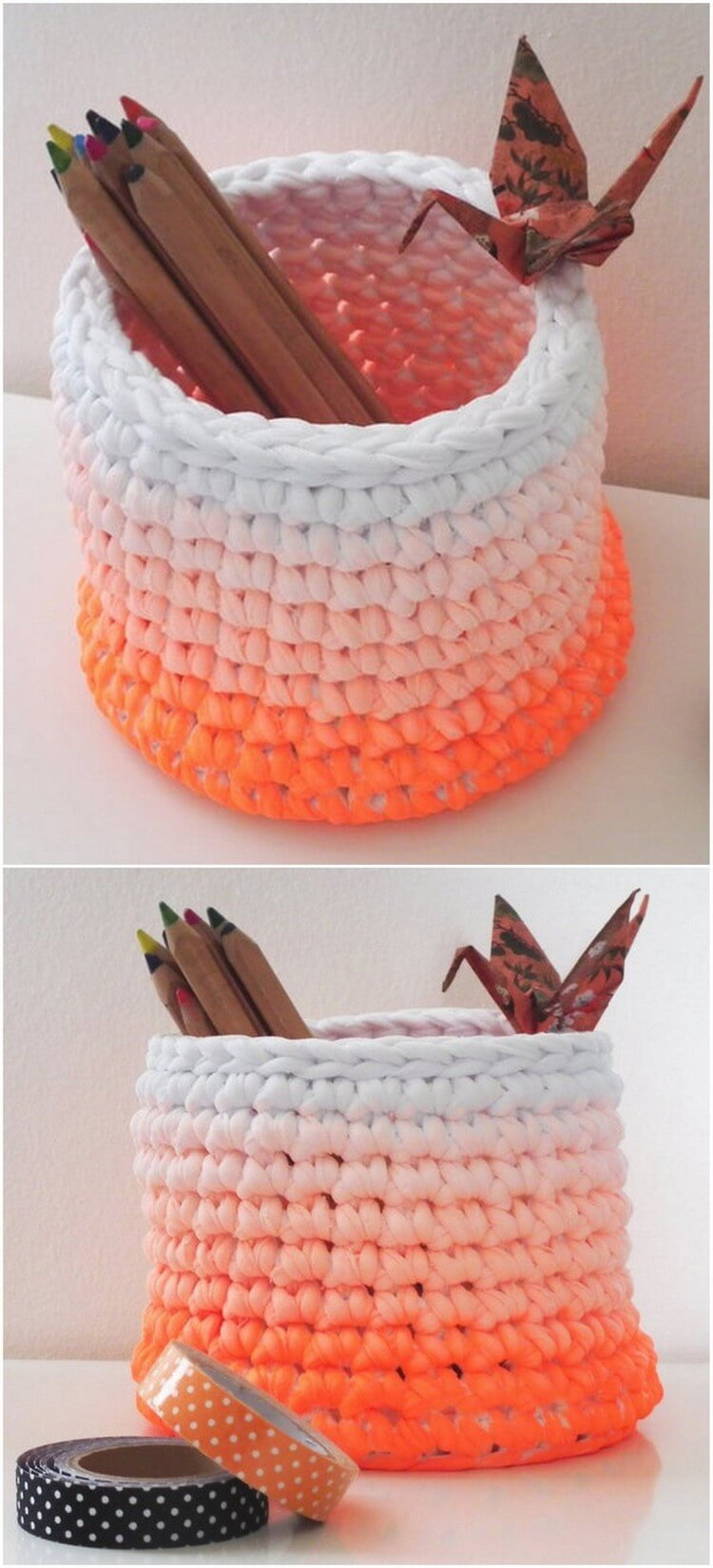 Crochet Basket Pattern (39)