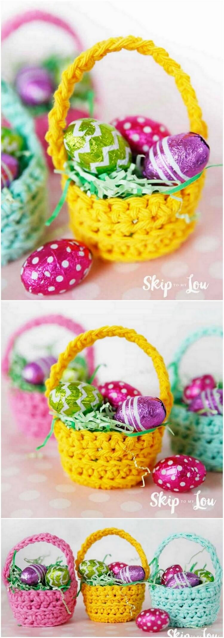 Crochet Basket Pattern (49)