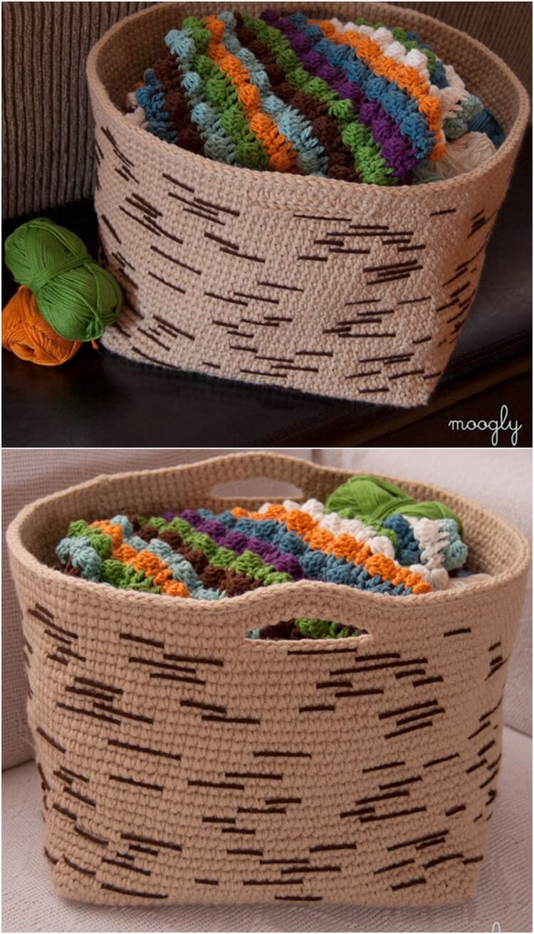 Crochet Basket Pattern (51)
