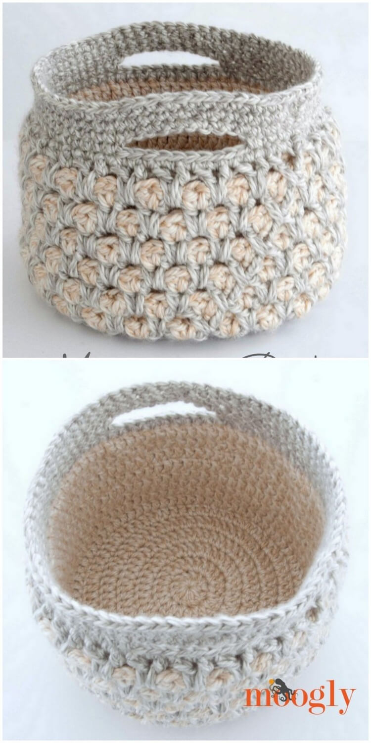 Crochet Basket Pattern (52)