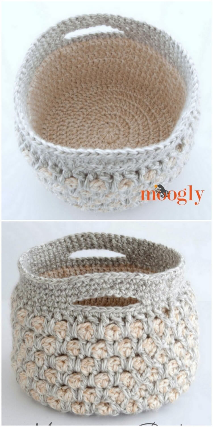 Crochet Basket Pattern (53)