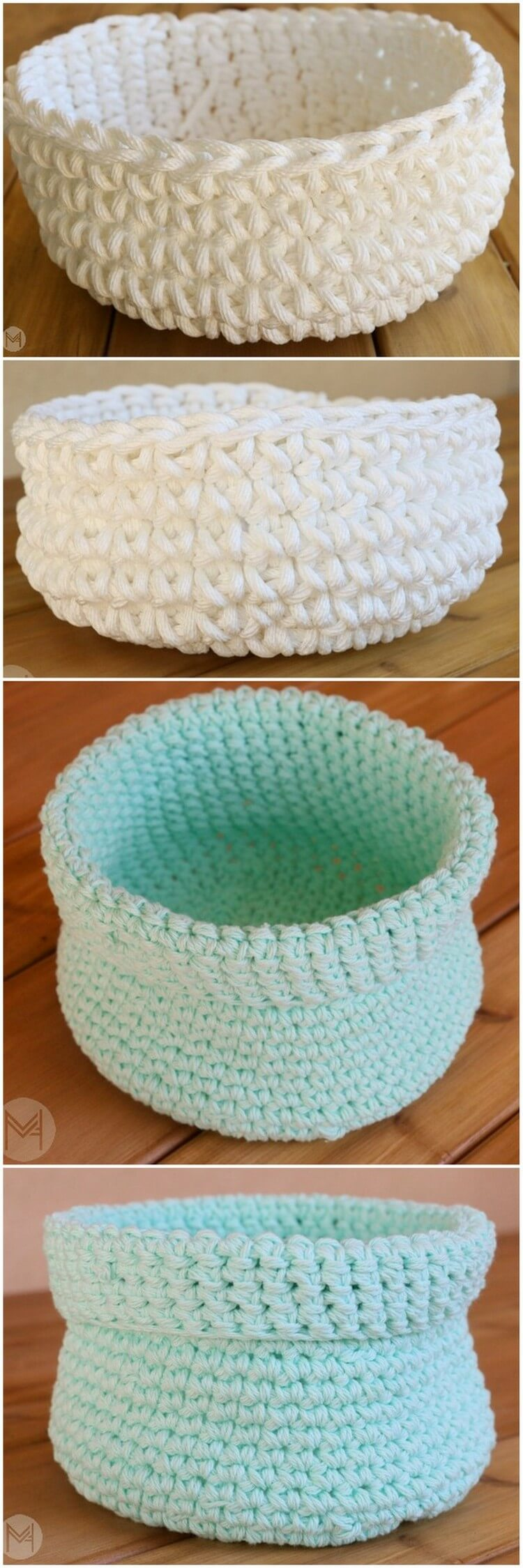 Crochet Basket Pattern (6)