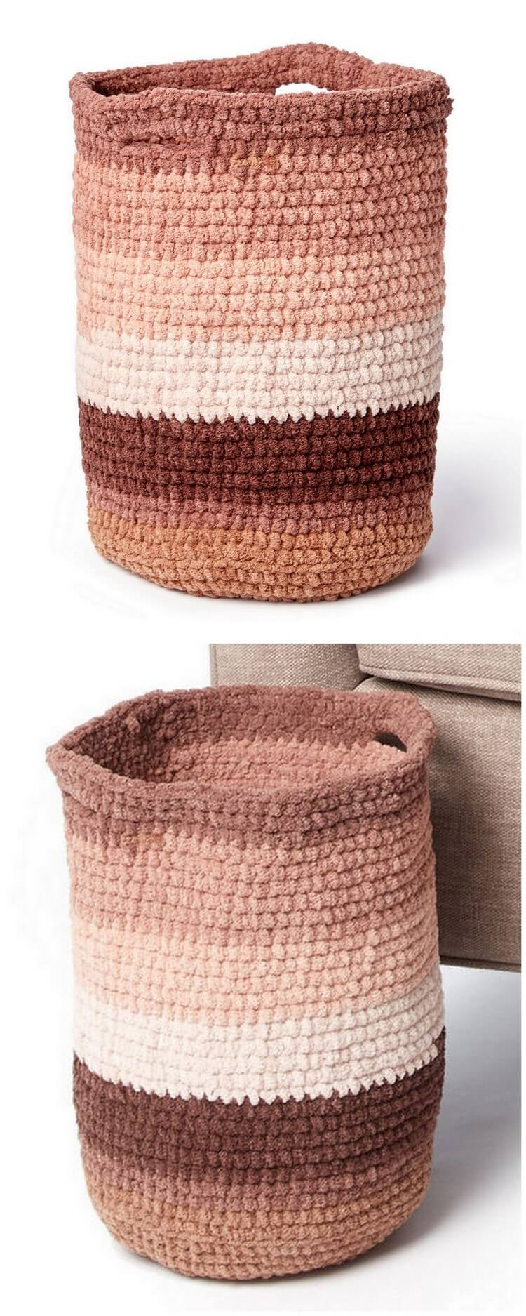 Crochet Basket Pattern (61)