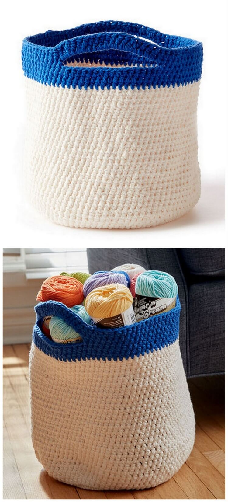 Crochet Basket Pattern (62)