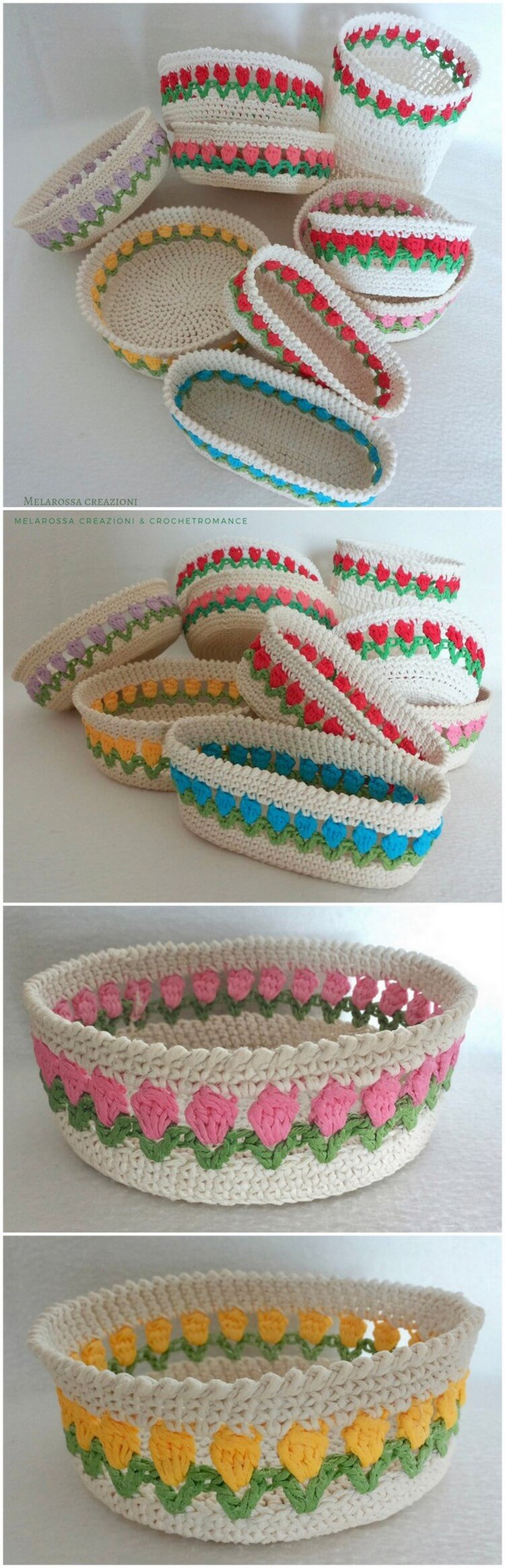 Crochet Basket Pattern (68)