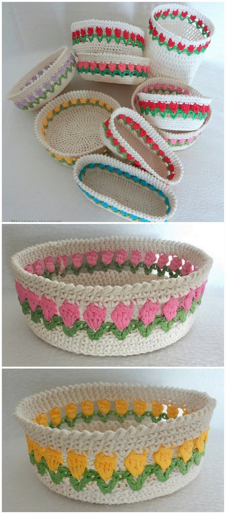 Crochet Basket Pattern (69)