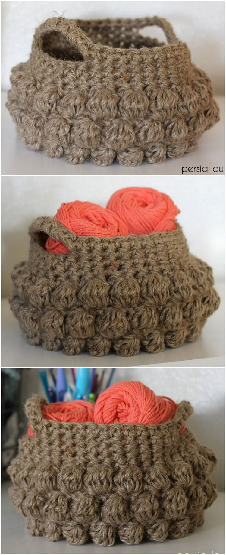 Crochet Basket Pattern (73)