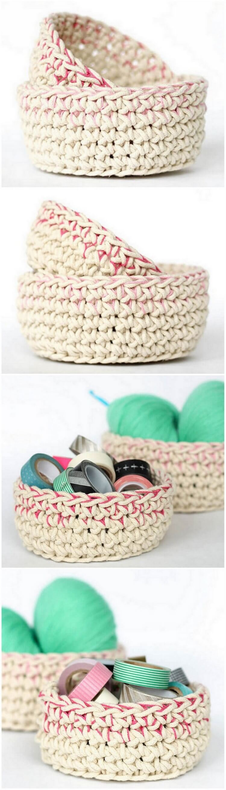 Crochet Basket Pattern (74)