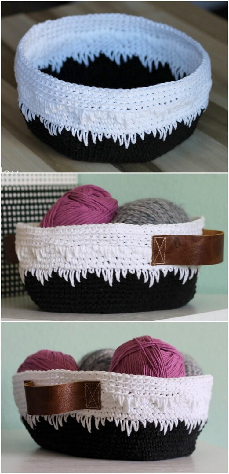 Crochet Basket Pattern (77)