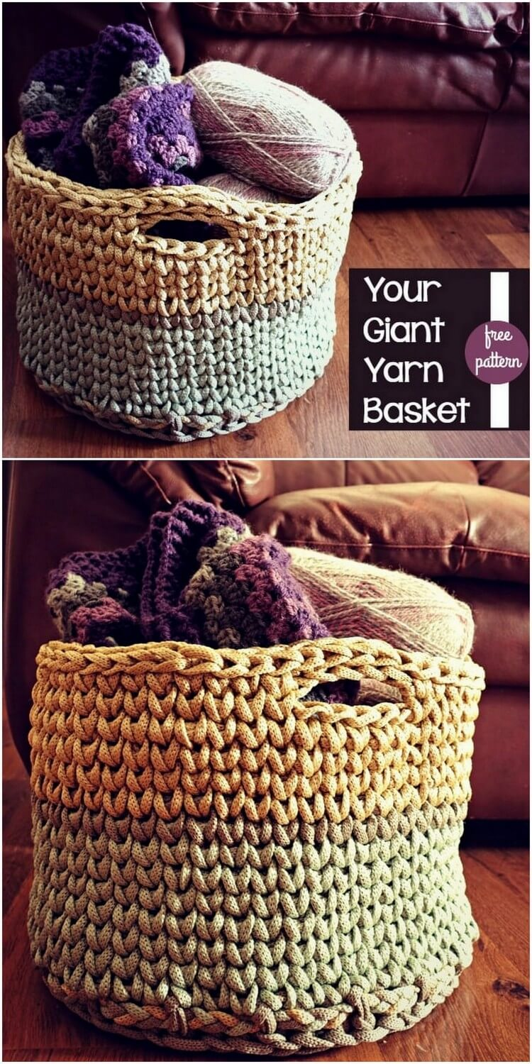 Crochet Basket Pattern (78)