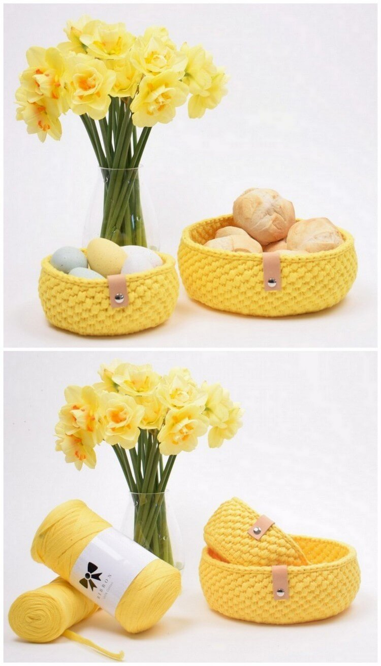 Crochet Basket Pattern (88)