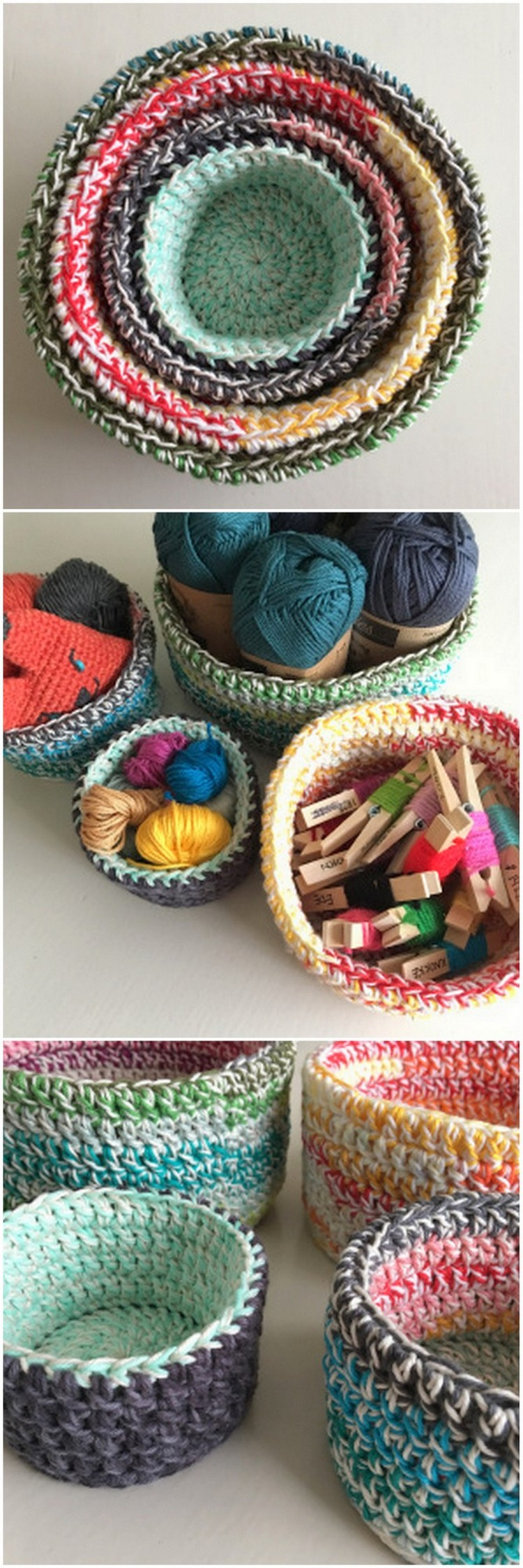 Crochet Basket Pattern (9)