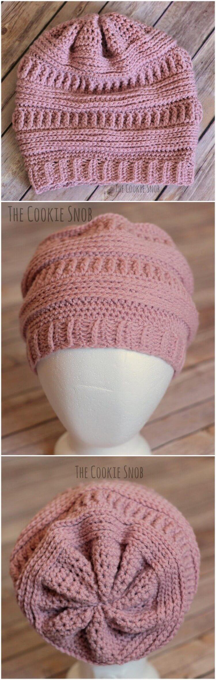 Crochet Hat Pattern (18)