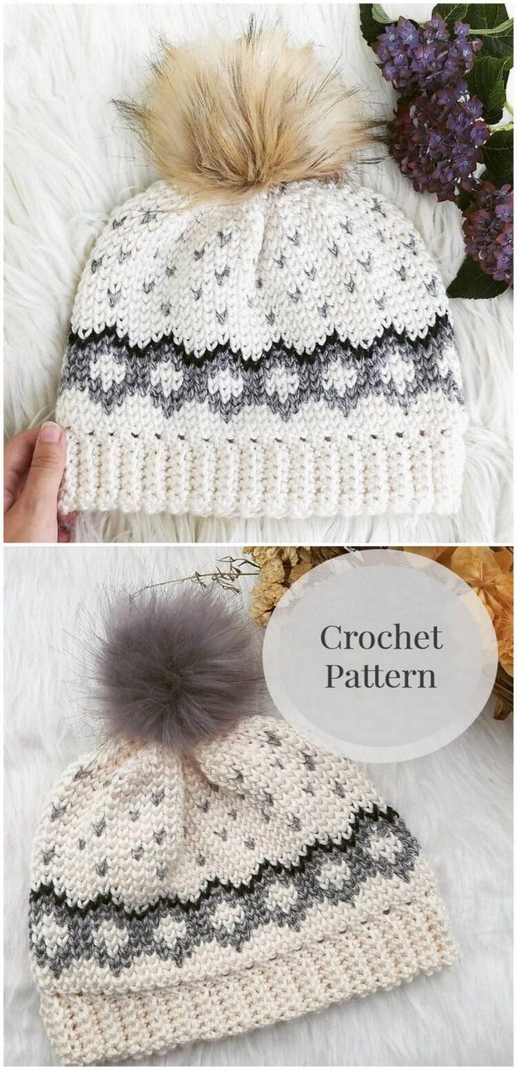 Crochet Hat Pattern (2)