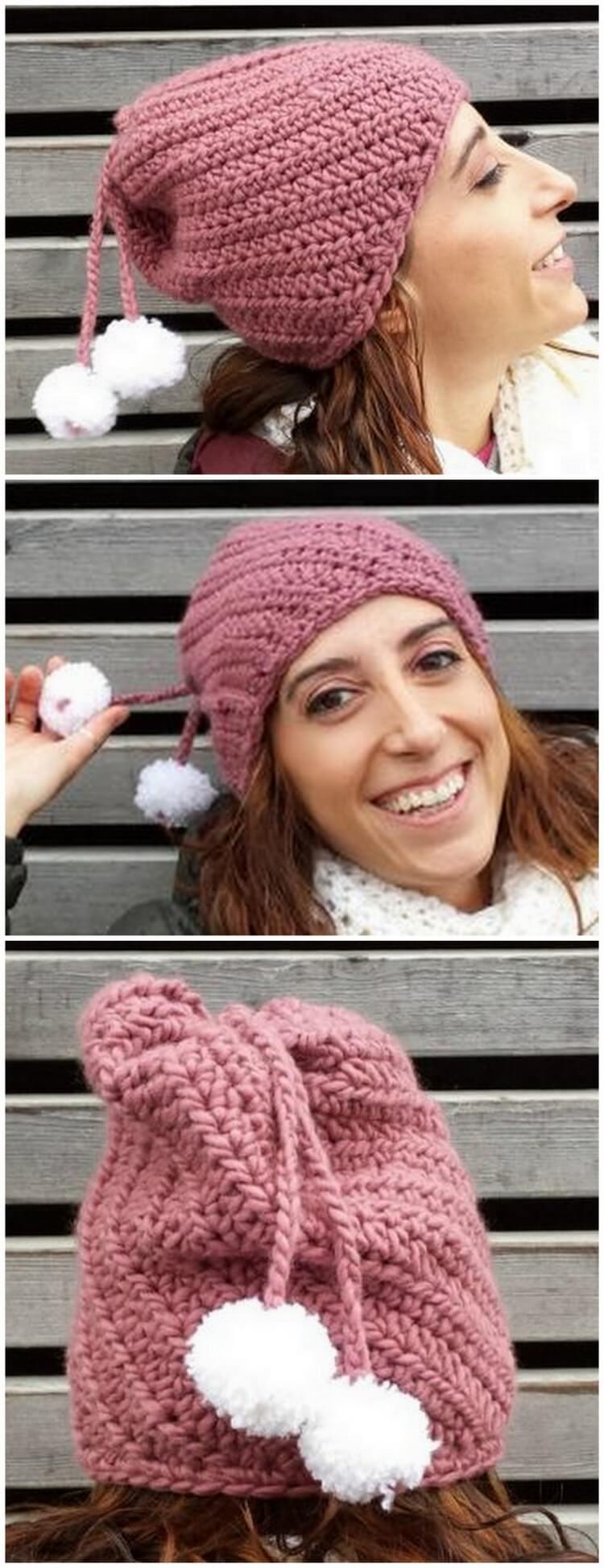 Crochet Hat Pattern (22)