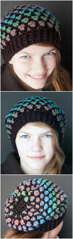 Crochet Hat Pattern (25)