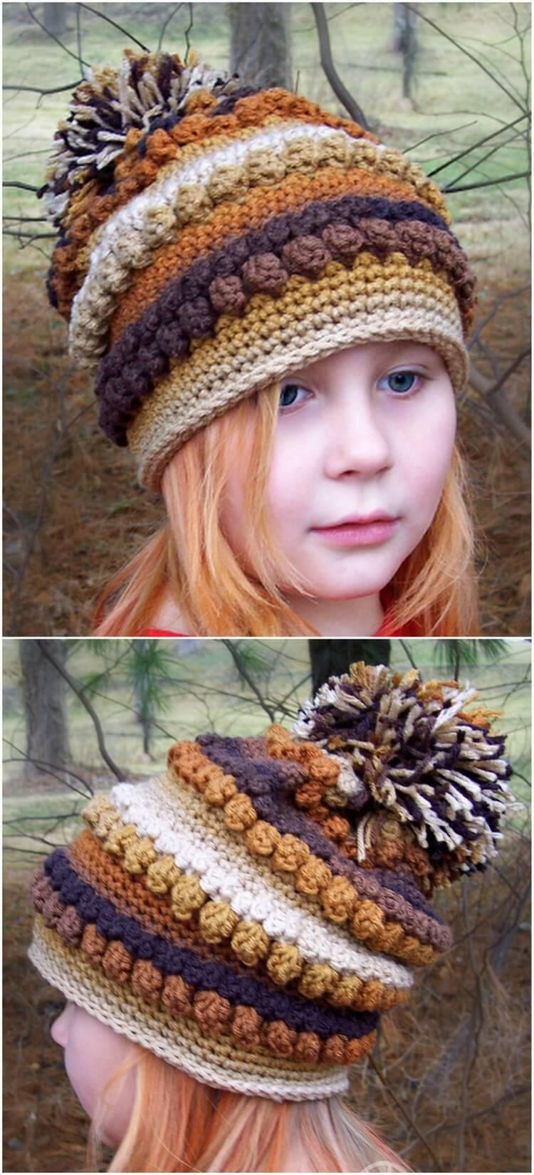Crochet Hat Pattern (33)