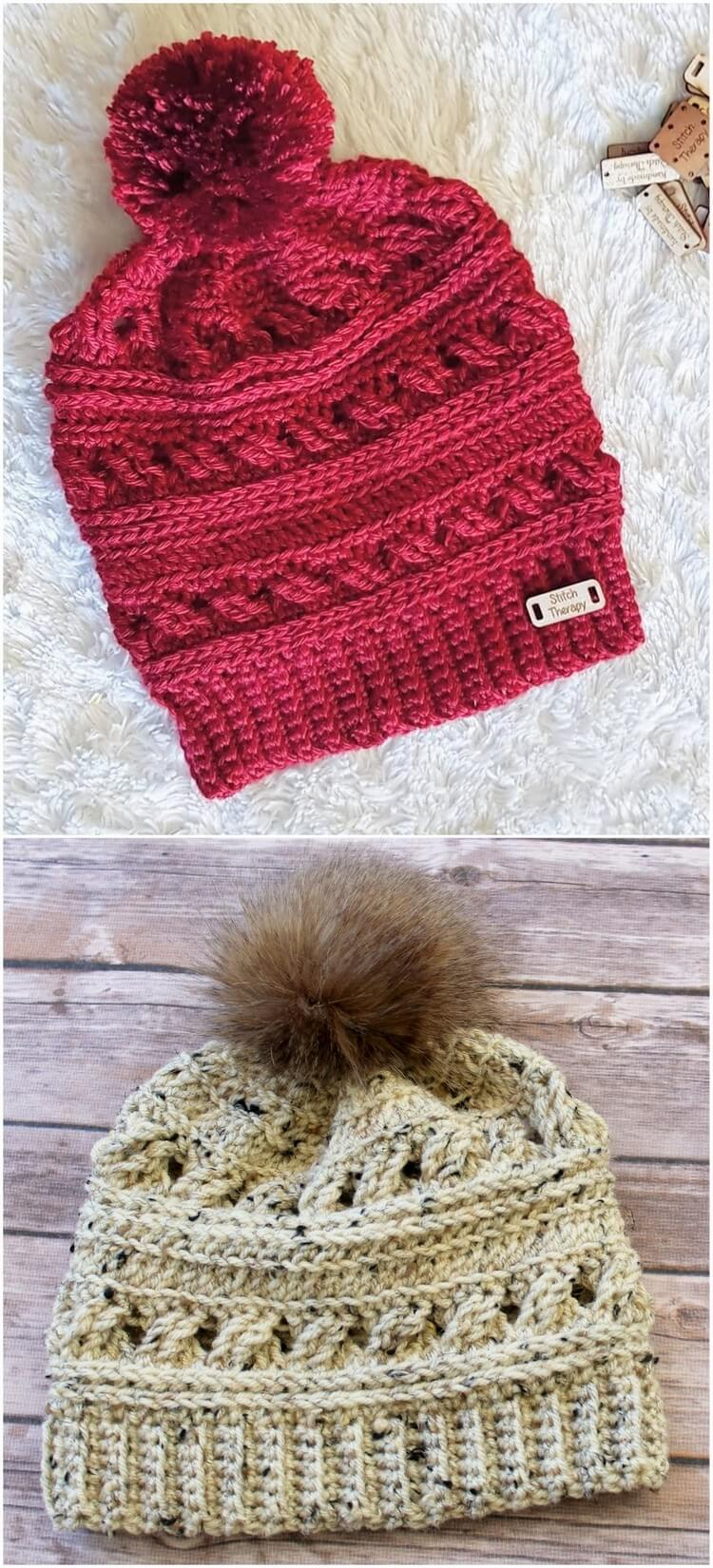 Crochet Hat Pattern (36)