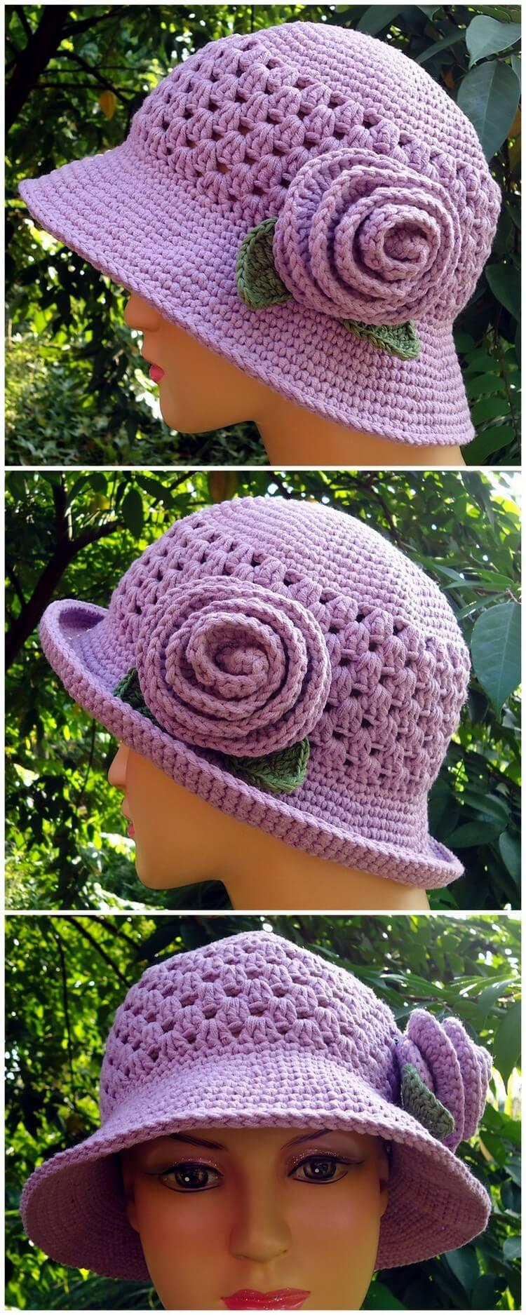 Crochet Hat Pattern (43)