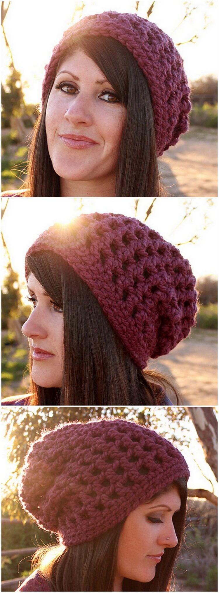 Crochet Hat Pattern (57)