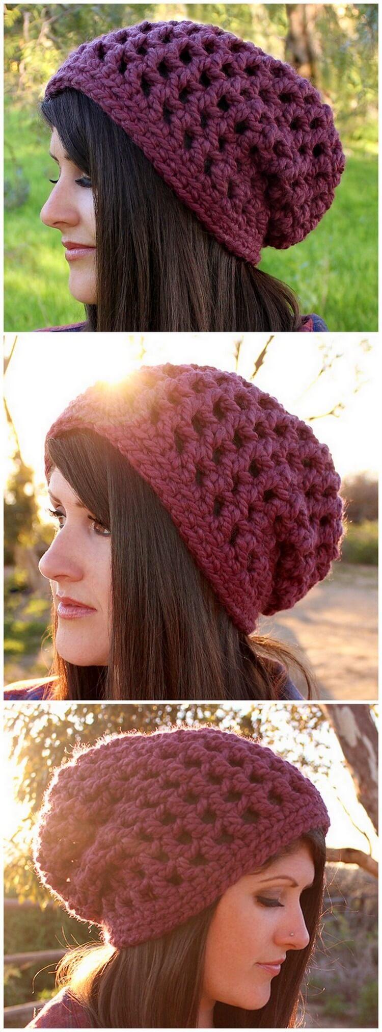 Crochet Hat Pattern (58)