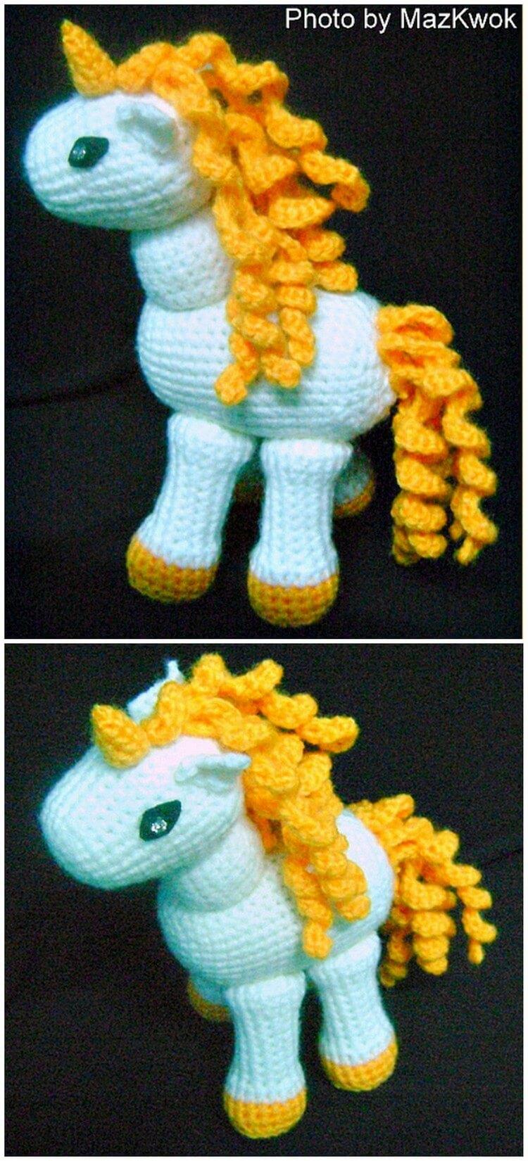 Crochet Unicorn Pattern (1)