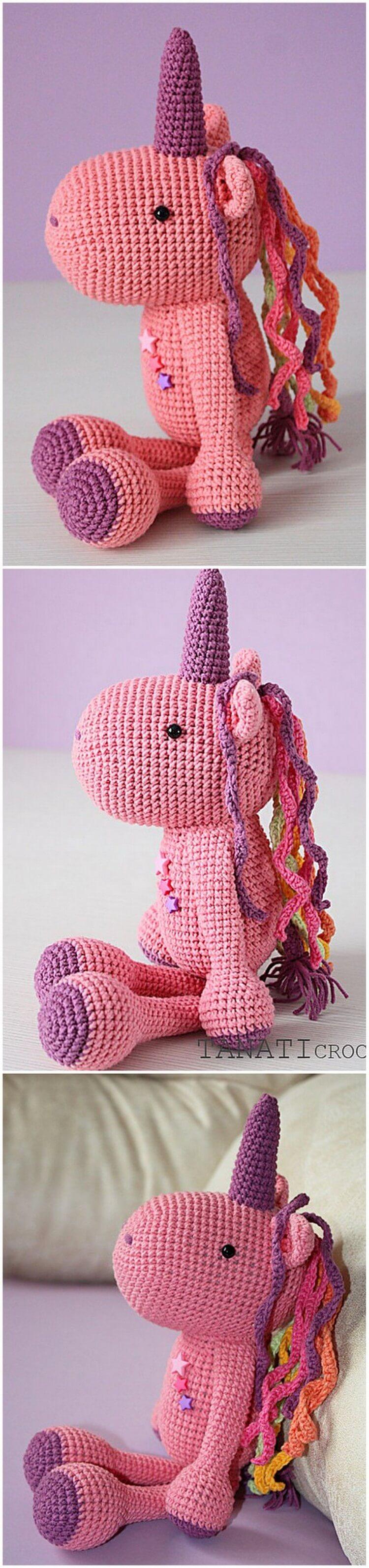 Crochet Unicorn Pattern (11)