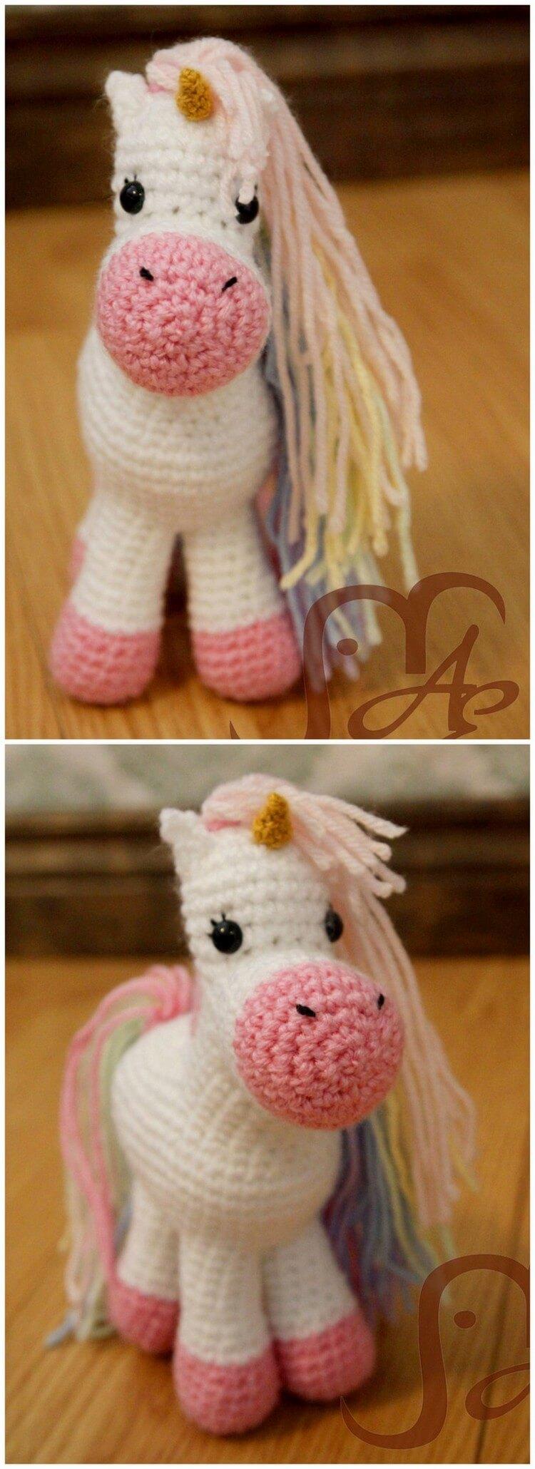 Crochet Unicorn Pattern (15)