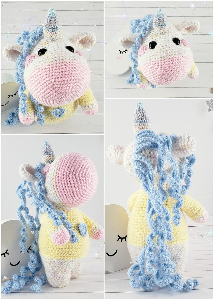 Crochet Unicorn Pattern (24)