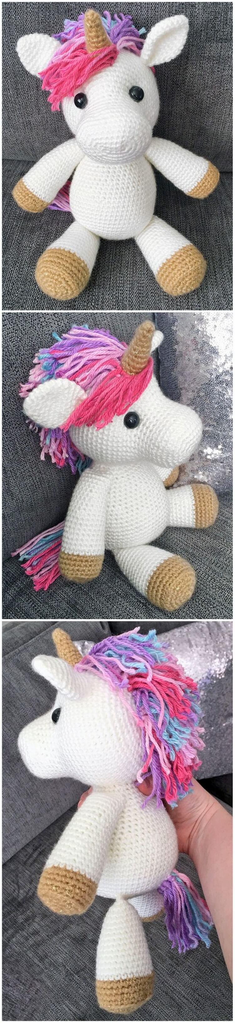 Crochet Unicorn Pattern (29)