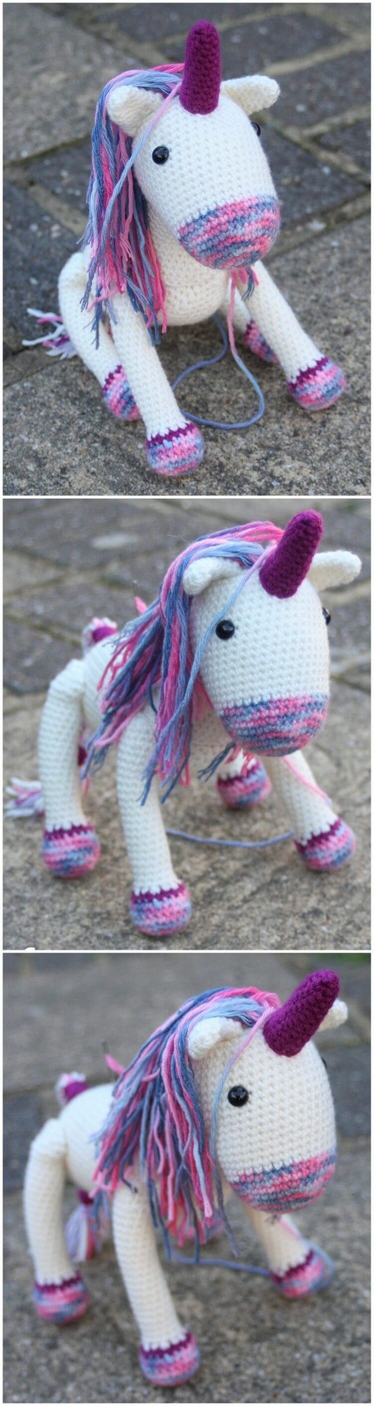 Crochet Unicorn Pattern (35)